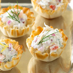 The best crab dip recipe ever ozuary for Canape cup fillings